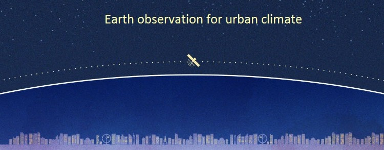 Earth observation for urban climate