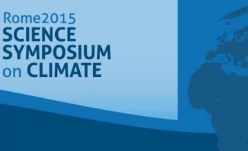 Rome2015_Science Symposium on Climate