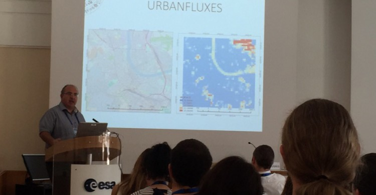 Next generation EO scientist were trained at ESA/ESRIN(Aug. 2016). URBANFLUXES was extensively discussed.