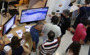 During the 2016 European Researchers' Night, the FORTH UF team presented the activities of the lab to the public, focusing on the URBANFLUXES (UF) project.