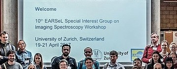 10th EARSeL SIG Imaging Spectroscopy Workshop, Zurich