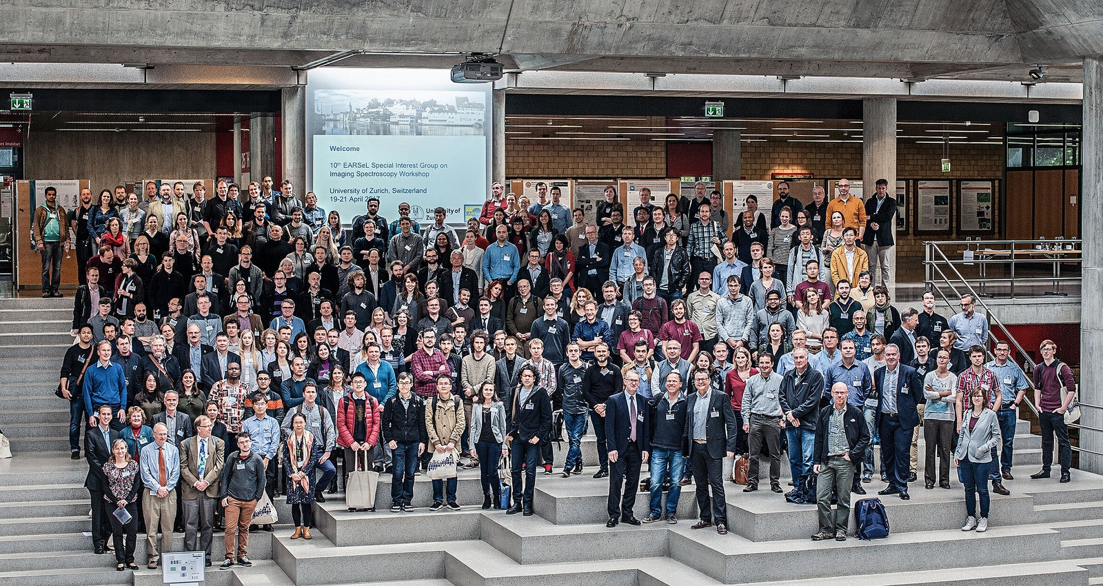 The group photo of EARSeL SIG Imaging Spectroscopy Workshop, Zurich