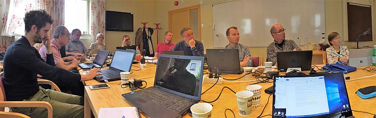 the Urbanfluxes Consortium had their fifth progress meeting
